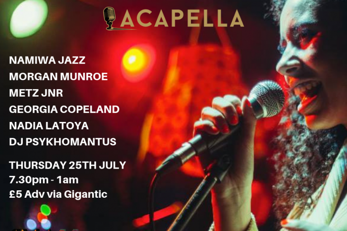 Acoustickle Birmingham: Jazz and Soul at Acapella