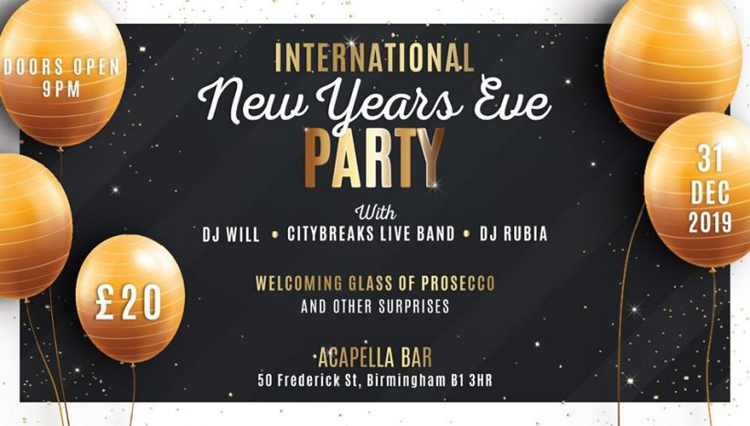 International New Years Eve Party 2020