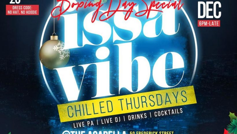Boxing Day Special with Issa Vibe